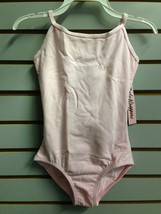 Body Wrappers BWC124 Girl's Size 4-6 (Fits 3-4) Light Pink Camisole Leotard - $7.91