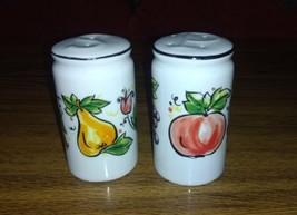 Tabletops Unlimited SWEET ORCHARD Salt & Pepper Shaker Set - $9.41