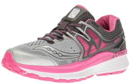 Saucony Hurricane ISO 3 Size 6 M (B) EU 37 Women's Running Shoes Gray S10348-1