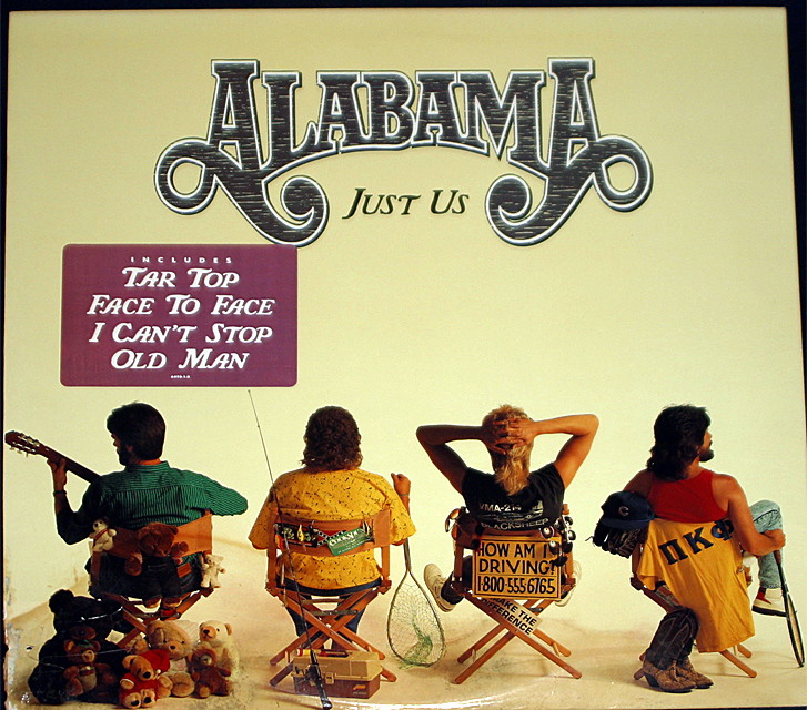 Alabama just us  cover