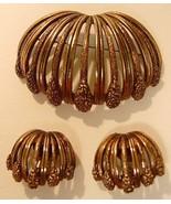 FANTASTIC Vintage TORTOLANI Pin & Earrings - $22.95