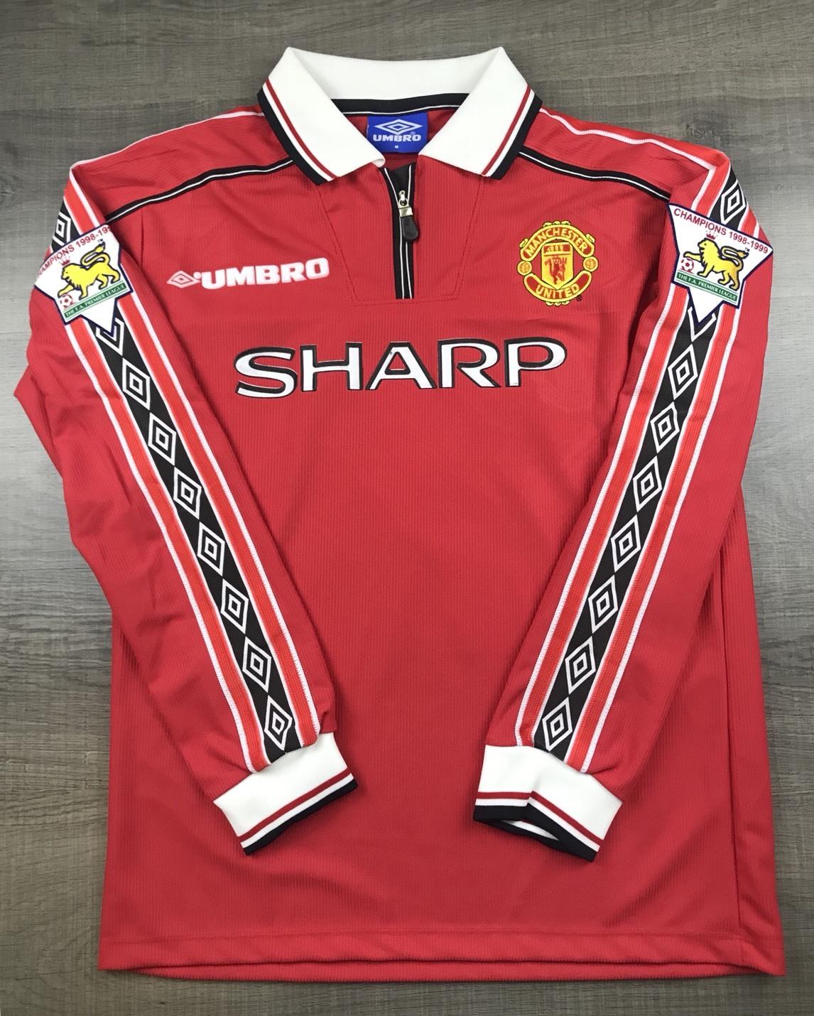 wholesale dealer 2b04b 8aeef Retro Man Utd Shirts For Sale