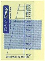 Fabric Gauge accessory cross stitch Yarn Tree  - $2.50