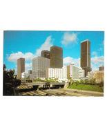 CA Los Angeles Panorama Hilton Hotel Freeway Vintage California Postcard - $5.98