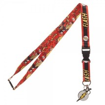 The Flash Logo Dc Comics ID Badge Holder Keychain Lanyard - $12.00