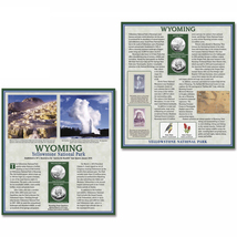 Wyoming Yellowstone National Park 2010 Quarter Dollar Collector Panel wi... - $19.99