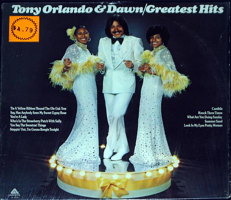 Tony orlando   dawn  greatest hits   cover