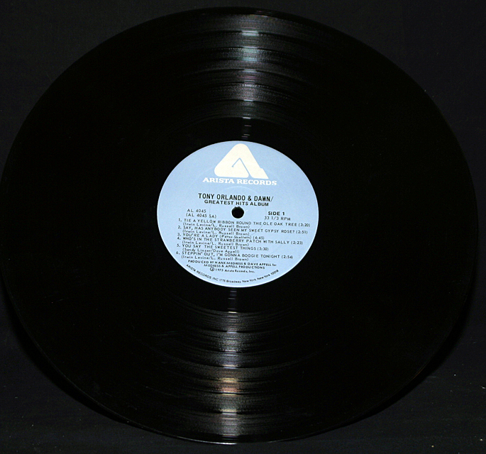 "Tony Orlando & Dawn  ""Greatest Hits""   LP"
