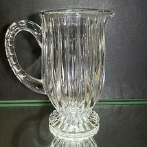"1 (One) MIKASA PARK LANE Cut Lead Crystal 32 oz  Pitcher 8 "" T DISCONTINUED - $61.74"