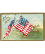 Our Country Forever 1910 Vintage Post Card  - $7.00