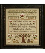 Prosperity Sampler cross stich chart Stitches Through Time  - $10.80
