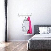 Efaithtek Coat Hanger Wall Mount, Chrome Finish Coat Robe Hat Clothes Wall Mount image 6