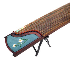 21 string professional performance embroidery guzheng zither test tenth ... - $559.00