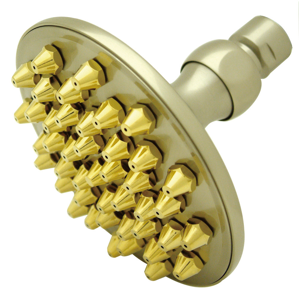 "Primary image for Restoration 9"" Shower Head, Satin Nickel"