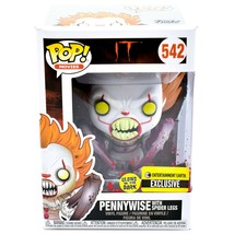 Funko Pop! IT Pennyswise Spider Legs 542 Entertainment Earth Exclusive F... - $14.84