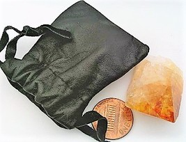 Citrine Crystal Specimen Keepsake Pouch 4 - $5.33