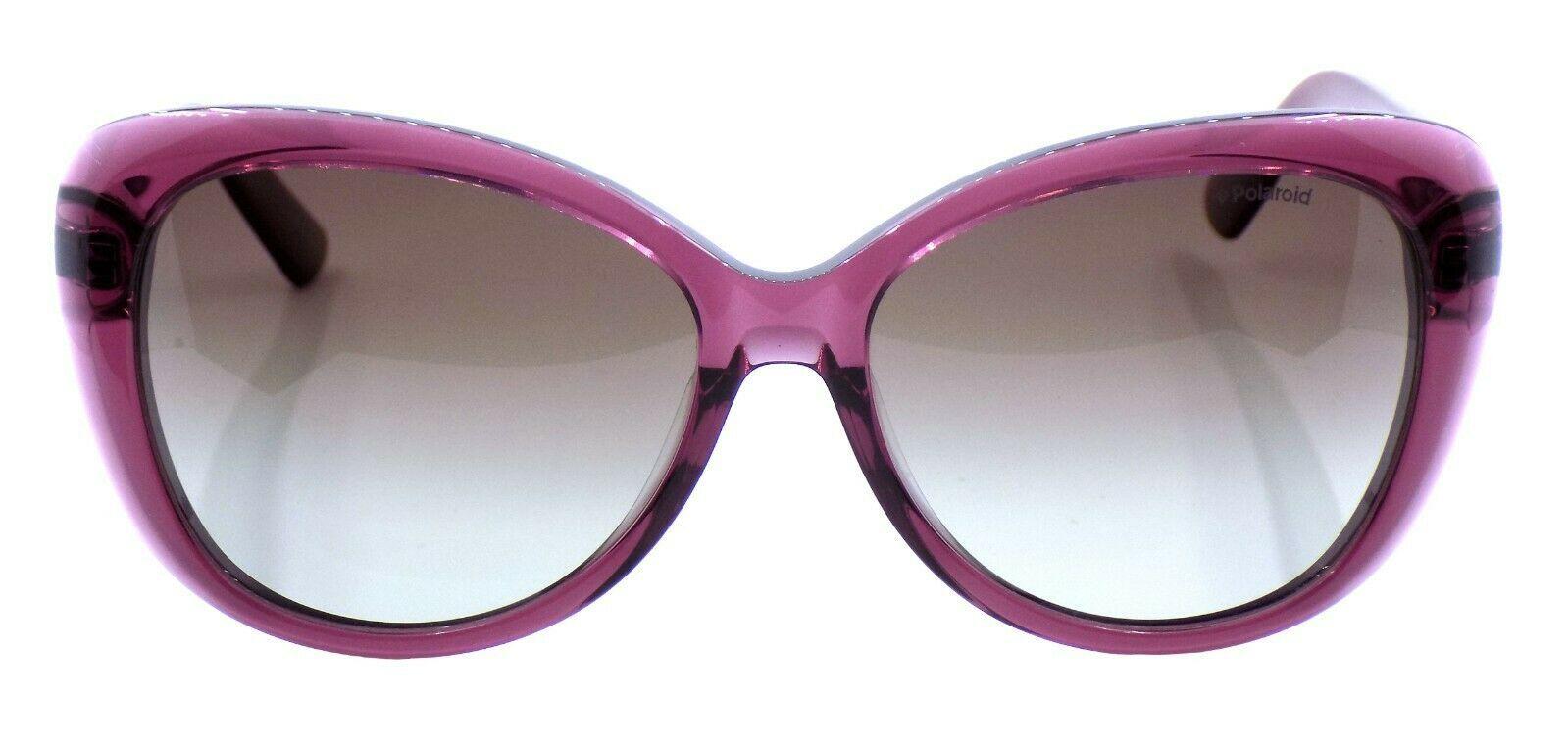 Polaroid PLD 4050/U/S LHFWJ Women's Sunglasses 58-16-140 Burgundy / Gray