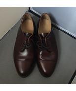 Stafford Executive Comfort Plus Cap toe Maroon/RED oxfords Men 8.5 EEE/E - $24.70