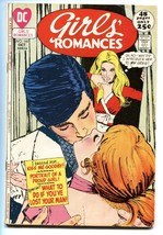 GIRLS' ROMANCES #160 comic book D.C. ROMANCE-SILVER AGE - $40.35