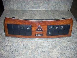 2005 MERCEDES CLK UPPER CONTROL PANEL 2096890031 - $75.00