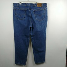 VTG Levis 540 Mens Jeans Sz 42x32 Relaxed Fit High Rise Brown Tab Leathe... - $28.01