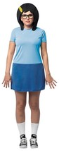 Bob's Burgers Tina Costume Women Adult Blue Dress One Size GC3884 - $54.99
