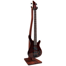Wooden Bass Guitar Stand - Mahogany, Walnut, Maple or Cherry - $149.99+