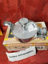 Vintage Harbor Freight Tools Metal Hamburger Press Item 44934 image 3