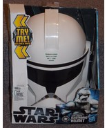 2012 Star Wars Clone Trooper Electronic Helmet New In Box - $54.99