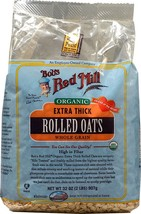 Bob's Red Mill Oats, Og, Rolled, Thick, 32-Ounce - $14.48