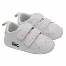 White Baby Boys Girls Walking Shoes Leather Soft Bottom Toddlers Shoes L694 - $16.99