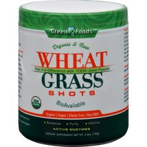 Green Foods Organic and Raw Wheat Grass Shots - 5.3 oz - $22.99