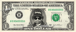 EAZY-E on a REAL Dollar Bill Cash Money Collectible Memorabilia Celebrit... - $8.88