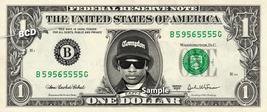 EAZY-E on a REAL Dollar Bill Cash Money Collectible Memorabilia Celebrity Nov - $8.88