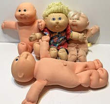 Vintage Cabbage Patch Kids Lot of 4 1982-1994 One Outfit - $33.39