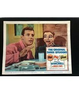 Jerry Mahoney Paul Winchell Stop Look & Laugh Lobby Card 1960 Voice of ... - $69.77
