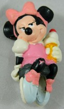 """Disney Pink Dress MINNIE MOUSE pvc figure Laying down Ice Cream Cake Applause 2"""" - $7.05"""