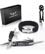 Multi Tool Survival Gear Kit ? Birthday Gifts Cool Gadgets For Men | Ta... - $47.90