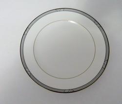 Christopher Stuart Bone China Y1011 Empire House Salad Plate White w/ Bl... - $12.75