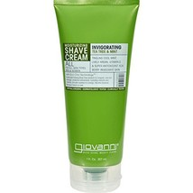 Giovanni Tea Tree & Mint Shave Cream, 7 oz - 1 Each.