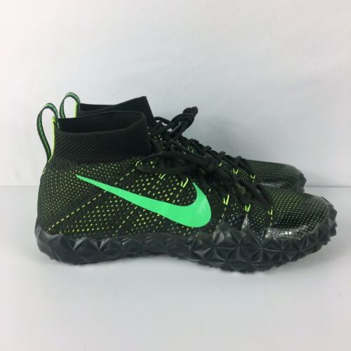 07b4419d778f 12. 12. Previous. Nike Alpha Sensory Turf Football Cleats Sequoia Green  854312 337 Men's Size 11