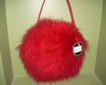 Fuzzy boa fluffy purse 001 thumb155 crop