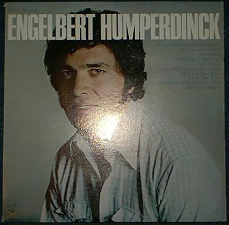 ENGELBERT HUMPERDINCK vinyl record LP