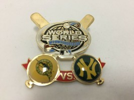 MLB World Series 100th Anniversary Pin 2003 Florida Marlins vs New York ... - $19.79
