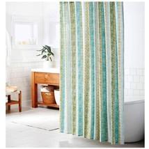 Threshold Shower Curtain Cotton Vertical Print Green, Catnip Green - $19.79