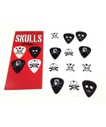 Guitar Picks Skulls Metal Death Themed 12 Pack (1 Dozen) - $5.52