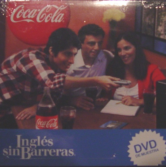 COCA COLA DVD INGLES SIN BARRERAS (ENGLISH WITHOUT BARRIERS)