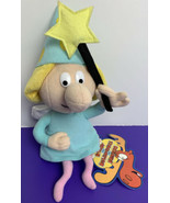 "Fractured Fairy Tales Rocky and Bullwinkle Bean Bag Plush 10"" 2000 Stuff... - $19.79"