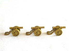 3x Risk 40th Anniversary Edition Board Game Metal Cannon Piece Gold Army Lot - $9.99