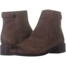 Franco Sarto Brandy Flat Casual Ankle Boots 754, Mushroom, 10 W US - $38.39